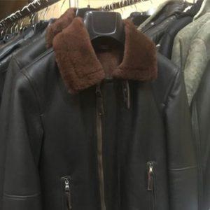 giacche pelle uomo